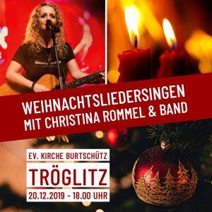 Christina Rommel – am 20.12. in Tröglitz!