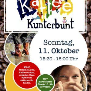 Kaffee Kunterbunt am 11.10.2020