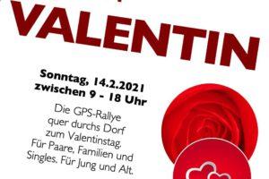 Tröglitz trifft Valentin: Dorfrallye am 14.2.!