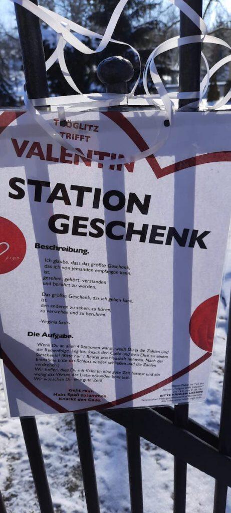 Station Geschenk