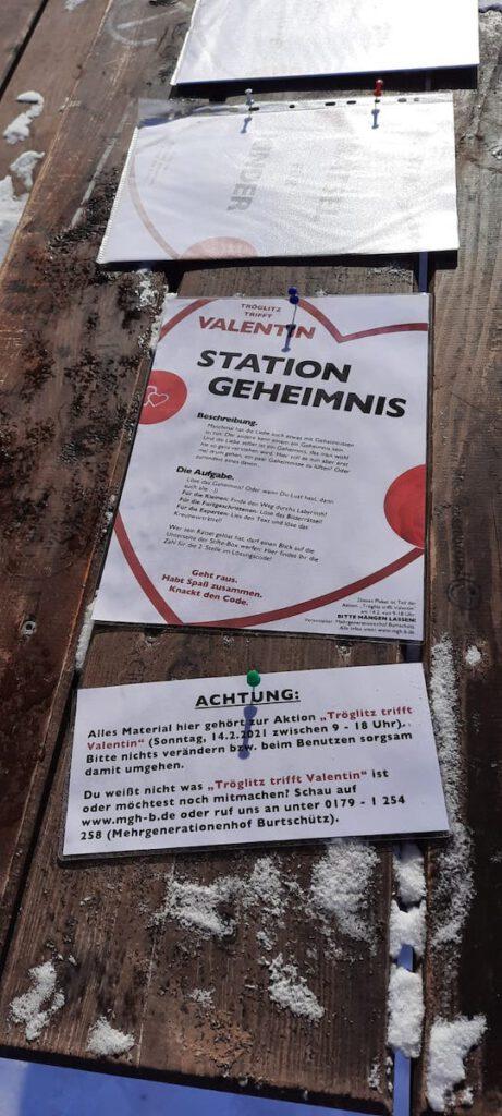 Station Geheimnis