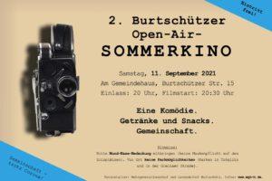 2. Burtschützer Open-Air-Sommerkino am 11.9.